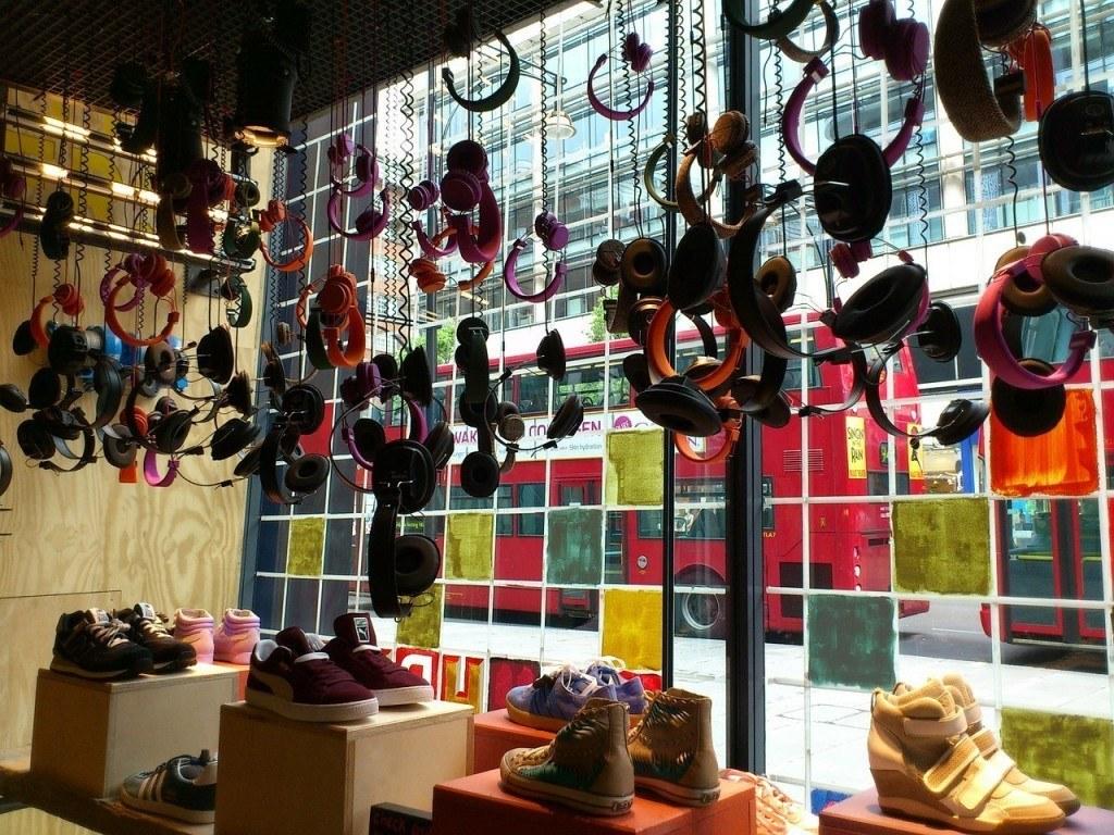 Shop Street style in London