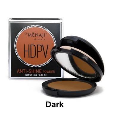 And Menaji HDPV Anti-Shine Powder Dark (10 g).